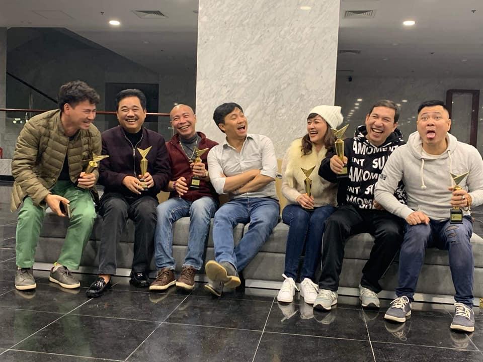 Xuân Bắc tiết lộ ảnh buổi tập Táo quân 2019 đầu tiên, Diễm Quỳnh nói điều bất ngờ - 1