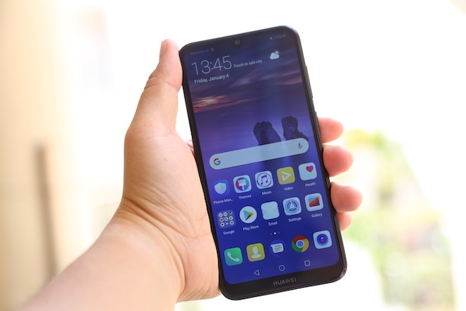 """Trên tay Huawei Y7 Pro (2019) với màn hình """"giọt nước"""", pin """"trâu"""", chip """"rồng"""" - 1"""