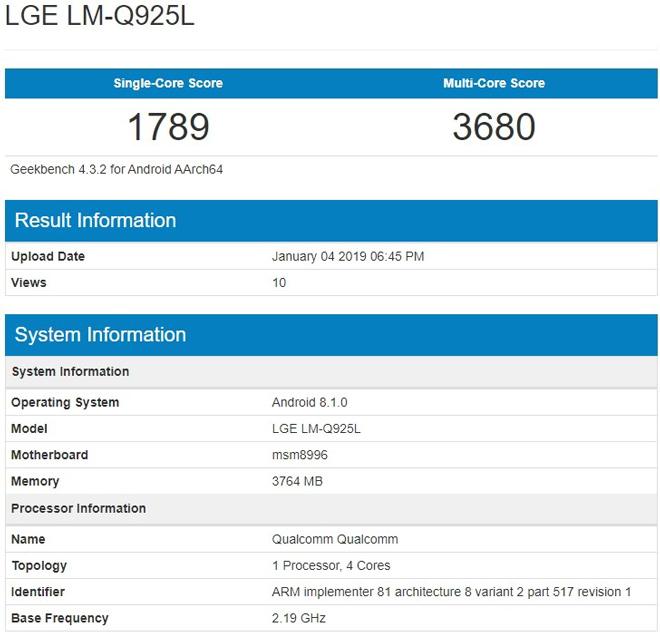 LG Q9 rò rỉ tin đồn, sẵn sàng chinh chiến - 2