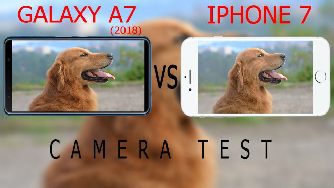 """iPhone 7 """"lướt"""" có đáng mua hơn Galaxy A7 (2018) mới? - 3"""