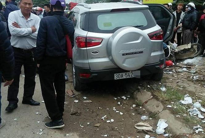 Lời khai của tài xế ô tô gây tai nạn 4 người thương vong ở Hà Nội - 1