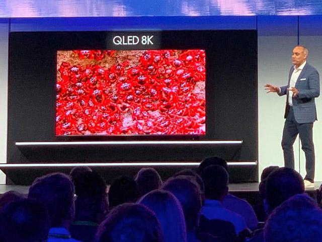 Samsung trình làng dòng QLED 8K cực đỉnh tại CES 2019