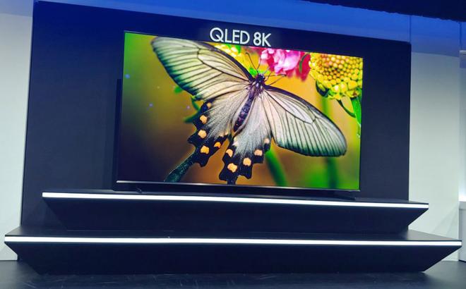 Samsung trình làng dòng QLED 8K cực đỉnh tại CES 2019 - 2
