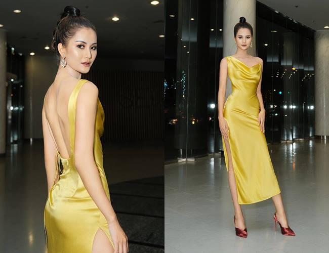 Bà xã Công Vinh đẹp nhất tuần với váy khoe lưng ong - 3