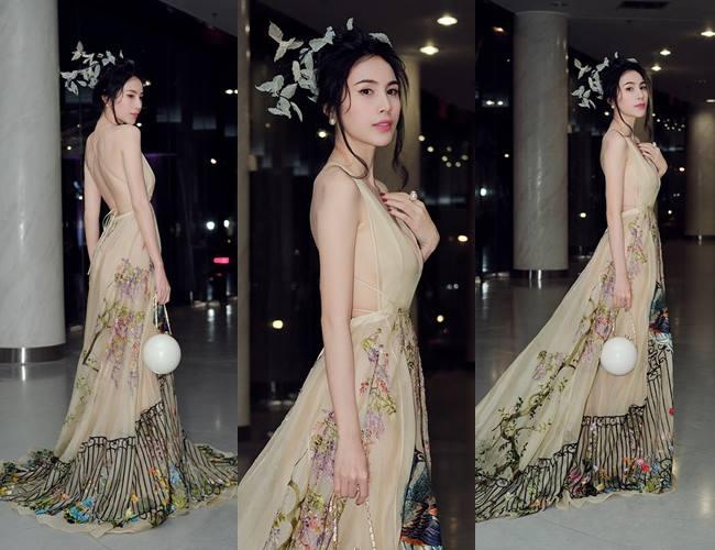 Bà xã Công Vinh đẹp nhất tuần với váy khoe lưng ong - 1