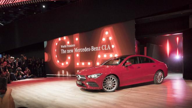 Mercedes-Benz CLA 2019 thế hệ mới ra mắt tại CES 2019 - 1
