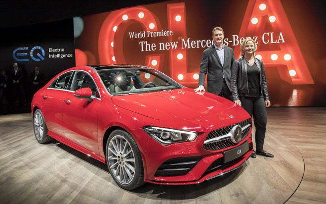 Mercedes-Benz CLA 2019 thế hệ mới ra mắt tại CES 2019 - 3