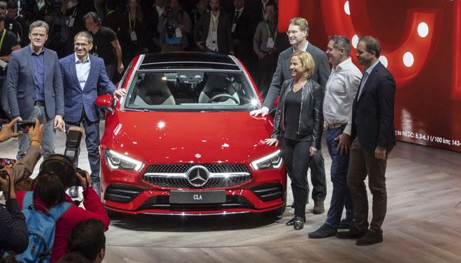 Mercedes-Benz CLA 2019 thế hệ mới ra mắt tại CES 2019 - 4