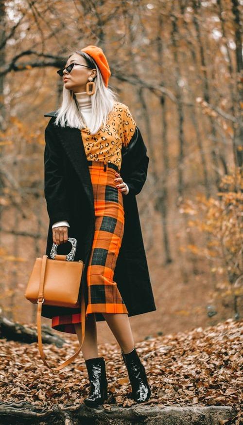 3 cách diện len cổ lọ siêu đẹp cho nữ công sở ngày giá rét - 7