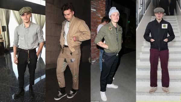 Quý tử nhà Beckham liên tục bị chê ăn mặc già hơn cả bố - 1