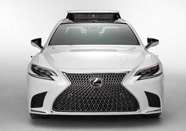 """Xế sang Lexus LS 500h được trang bị """"tài xế ảo"""" tự lái - 3"""