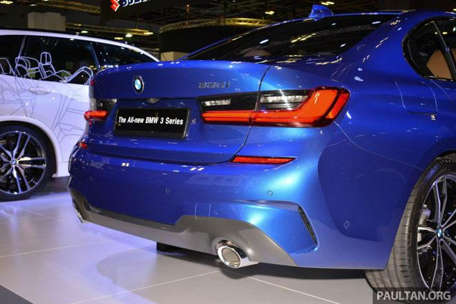 Ảnh thực tế BMW 330i 2019 thế hệ mới được ra mắt tại Singapore Motor Show 2019 - 13