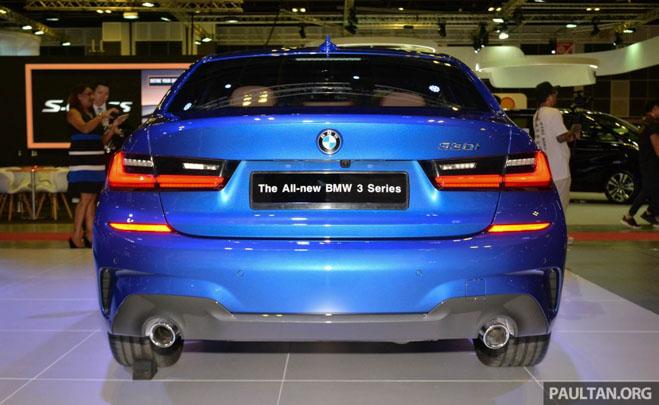 Ảnh thực tế BMW 330i 2019 thế hệ mới được ra mắt tại Singapore Motor Show 2019 - 4