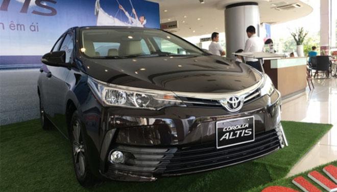 Bảng giá xe Toyota altis 2019 mới nhất. toyota ha tinh