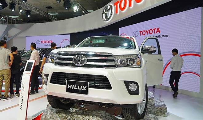 Bảng giá xe Toyota hilux mới nhất, toyota ha tinh