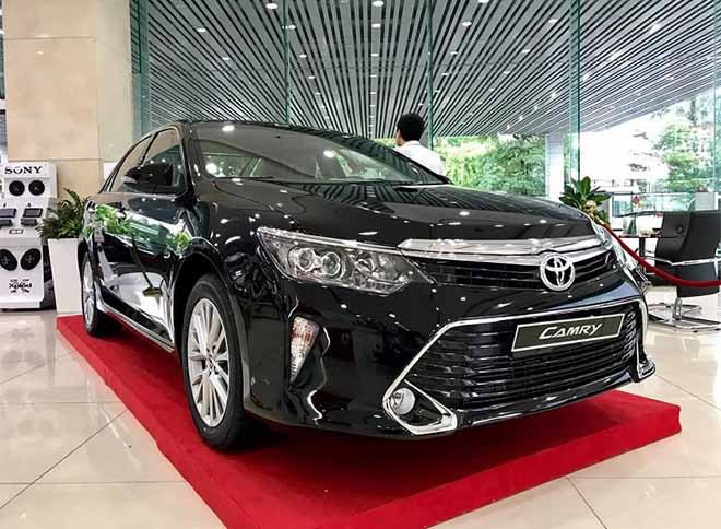 Bảng giá xe Toyota Camry 2019, Toyota Hà Tĩnh