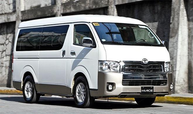 Bảng giá xe Toyota Hiace 2019 - Toyota Hà Tĩnh