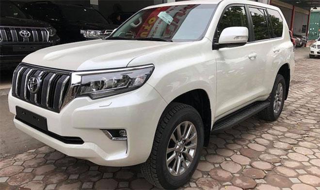 Bảng giá xe Toyota Prado 2019 mới nhất - toyota tại Hà Tĩnh