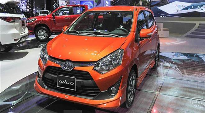 Bảng giá xe Toyota wigo 2019 mới nhất - Toyota Hà Tĩnh