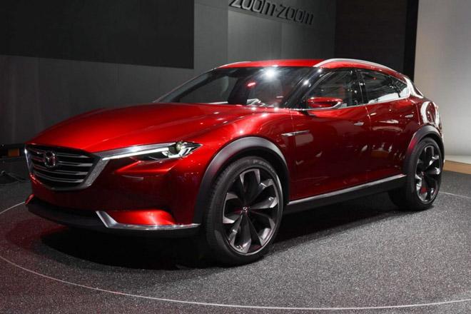 Mazda sắp ra mắt mẫu crossover CX-3 thế hệ mới - 1