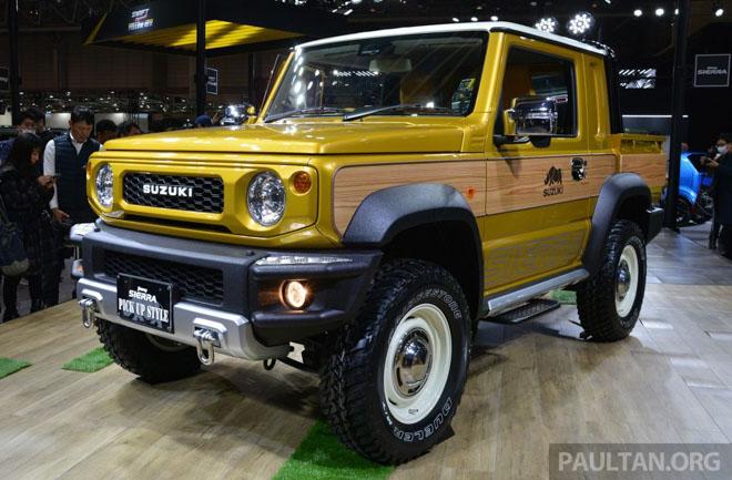 Suzuki Jimmy phong cách bán tải chính thức ra mắt - 1