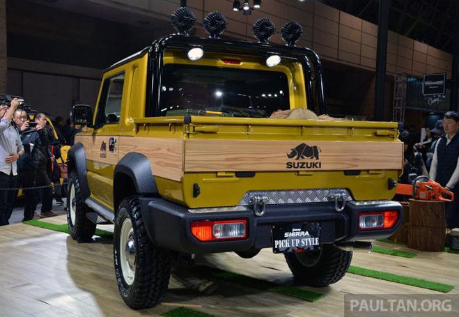 Suzuki Jimmy phong cách bán tải chính thức ra mắt - 2