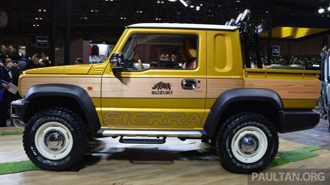 Suzuki Jimmy phong cách bán tải chính thức ra mắt - 4