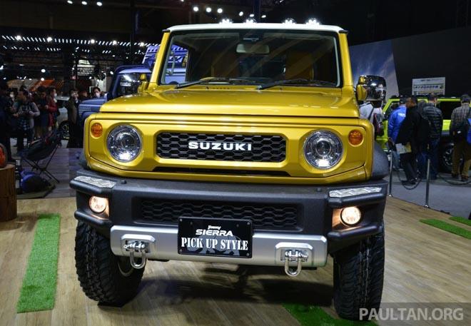 Suzuki Jimmy phong cách bán tải chính thức ra mắt - 8