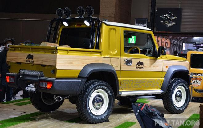 Suzuki Jimmy phong cách bán tải chính thức ra mắt - 3