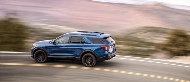 Ford ra mắt Explorer ST 2020: SUV mạnh mẽ nhất lịch sử thương hiệu - 14