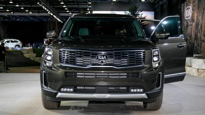 Ảnh thực tế SUV cỡ trung Kia Telluride 2020 vừa ra mắt - 2