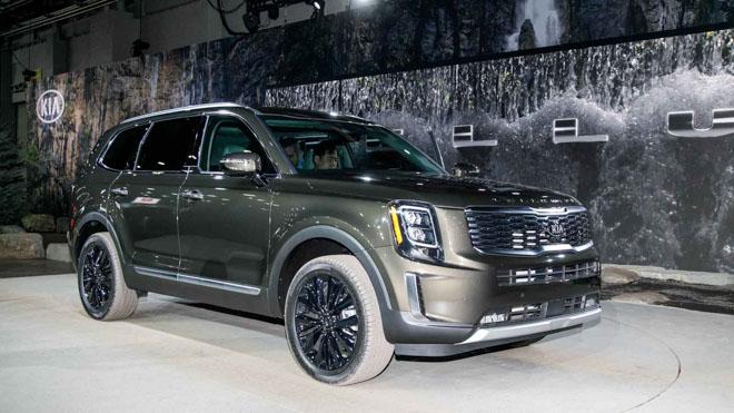 Ảnh thực tế SUV cỡ trung Kia Telluride 2020 vừa ra mắt - 1