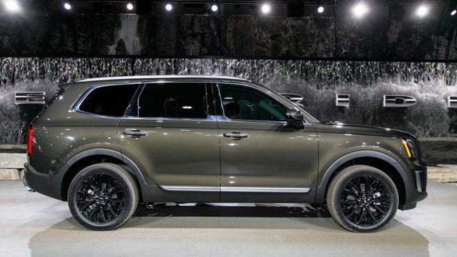 Ảnh thực tế SUV cỡ trung Kia Telluride 2020 vừa ra mắt - 3