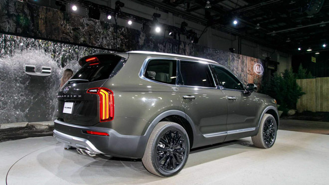 Ảnh thực tế SUV cỡ trung Kia Telluride 2020 vừa ra mắt - 4