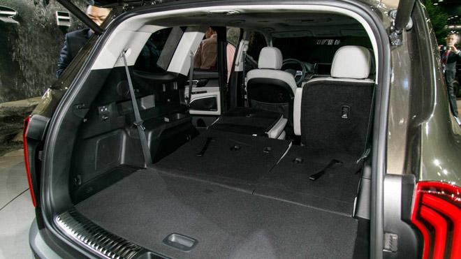 Ảnh thực tế SUV cỡ trung Kia Telluride 2020 vừa ra mắt - 13