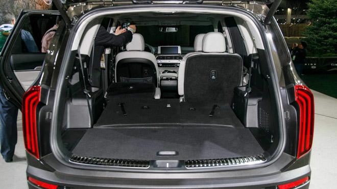 Ảnh thực tế SUV cỡ trung Kia Telluride 2020 vừa ra mắt - 12