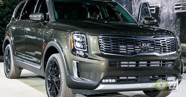 Ảnh thực tế SUV cỡ trung Kia Telluride 2020 vừa ra mắt