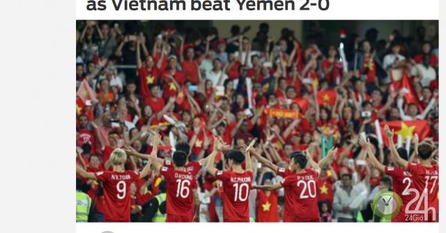 Báo Hàn Quốc: Việt Nam thắng ấn tượng, lịch sử Asian Cup chờ đón