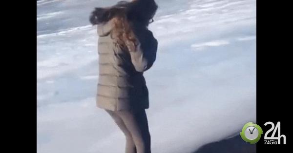 Cái kết khó đỡ của những trò nghịch dại trong mùa đông