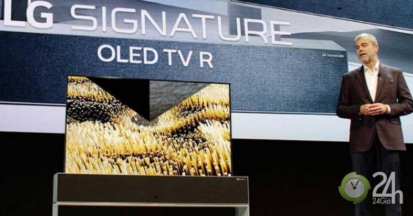 LG bội thu tại CES 2019, TV OLED Signature R9 cuộn bá đạo