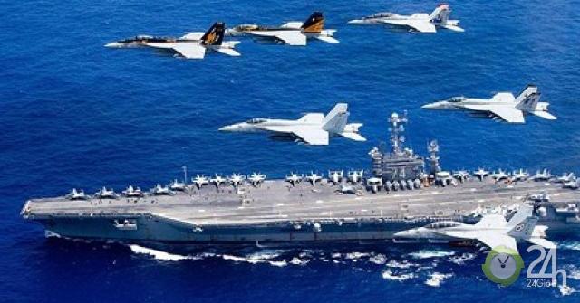 Lần đầu tiên sau hơn 10 năm, tàu sân bay Mỹ sắp đi qua eo biển Đài Loan