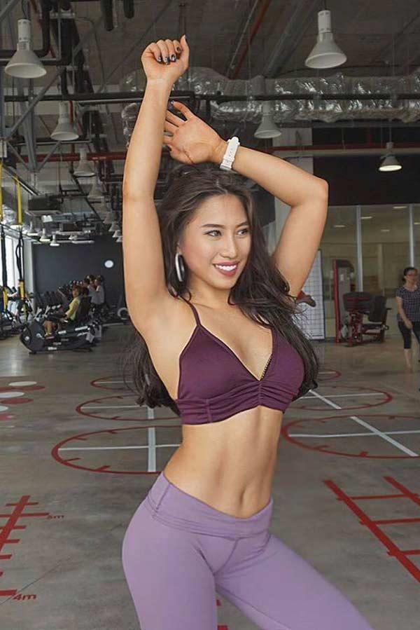 """""""Hot girl phòng gym Việt"""" có vòng 3 gần một mét không chỉ nhờ ngồi xổm - 5"""