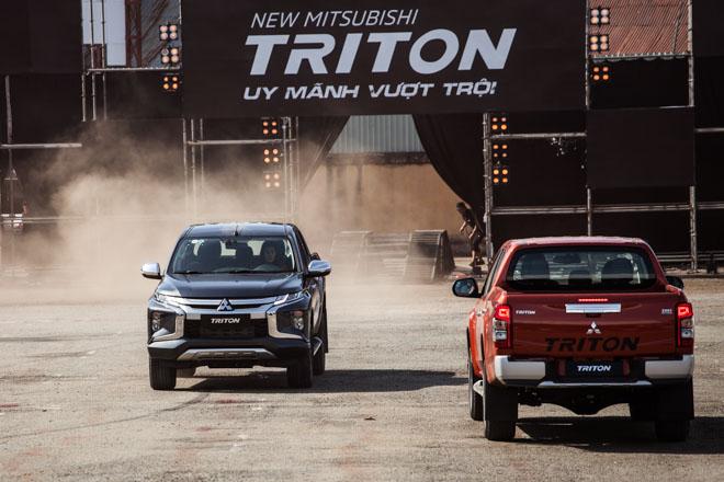 Mitsubishi Triton 2019 ra mắt thị trường Việt Nam bằng những màn drift xe kịch tính - 3