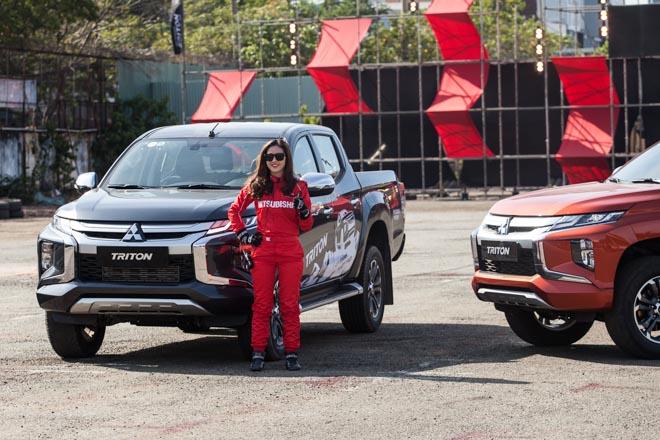 Mitsubishi Triton 2019 ra mắt thị trường Việt Nam bằng những màn drift xe kịch tính - 2