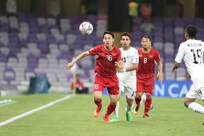 ĐT Việt Nam vào vòng 1/8 Asian Cup: Báo châu Á ngợi khen 5 chân chuyền siêu hạng - 1