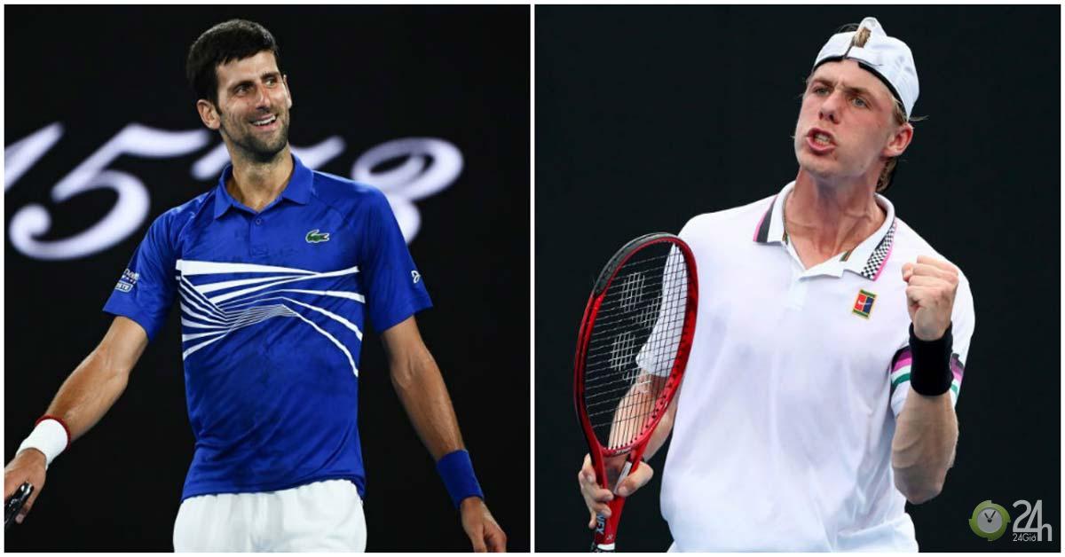 Trực tiếp tennis Djokovic - Shapovalov: Chướng ngại vật đầu tiên