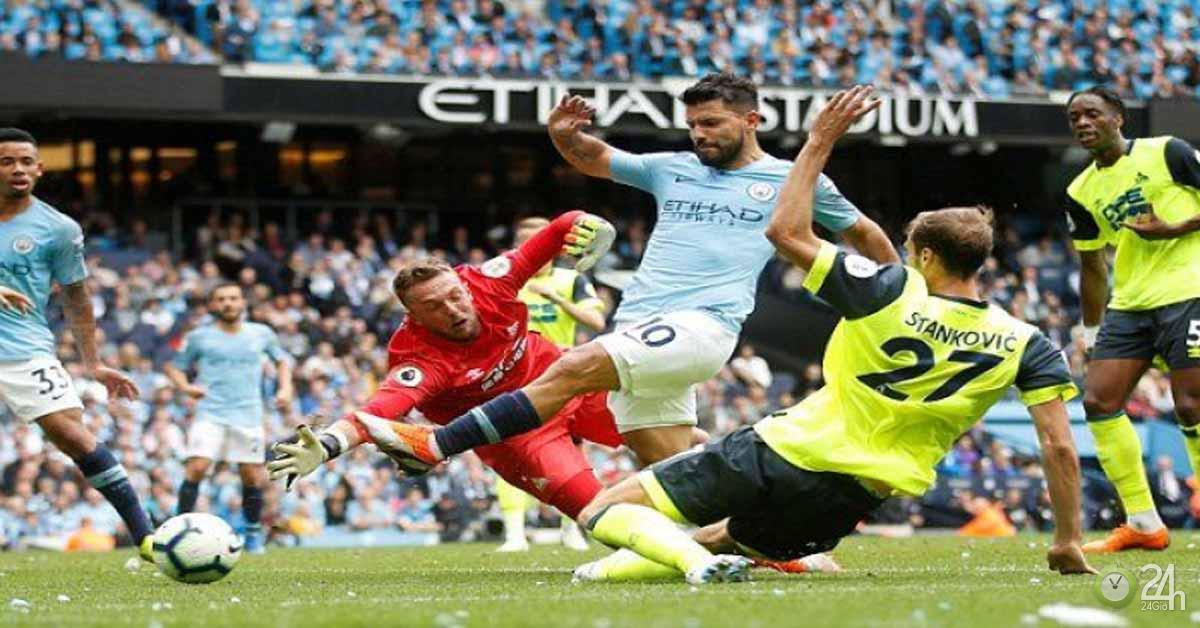 Nhận định bóng đá Huddersfield - Man City: Bắt nạt tiểu nhược, bám đuổi Liverpool