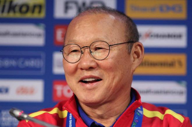 Họp báo ĐT Việt Nam - Jordan: HLV Park Hang Seo phủ nhận sự may mắn - 2