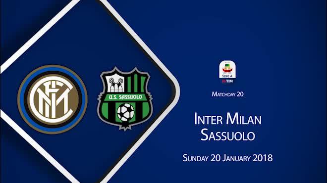 Highlight: Inter Milan vs Sassuolo