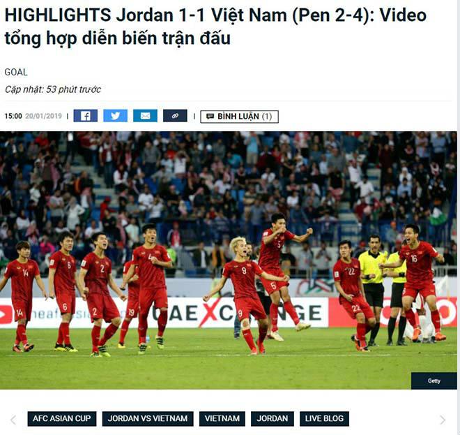 ĐT Việt Nam hạ Jordan: Báo Jordan gọi Việt Nam là thế lực mới nổi ở châu Á - 3